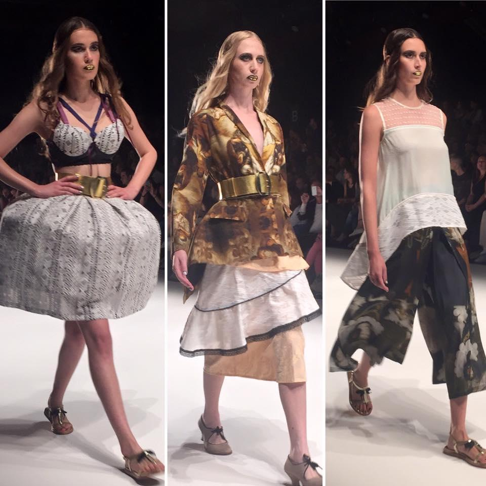 Blogger @ rebekka ruétz Fashionshow!