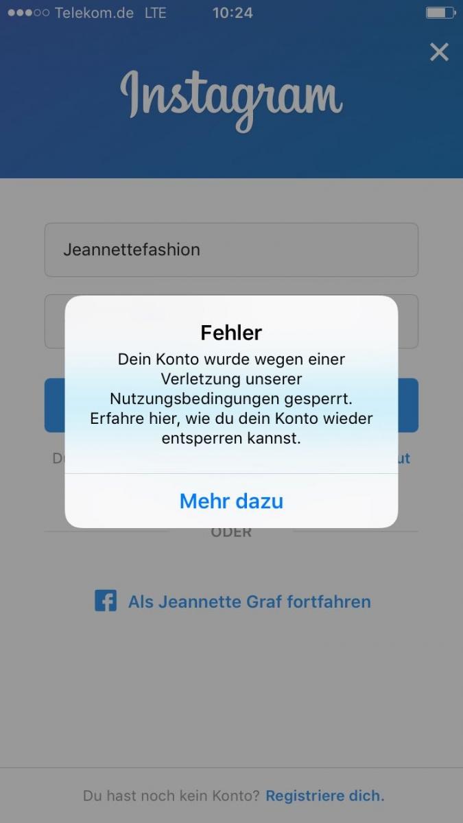 Facebook Jemand Hat Versucht Sich Einzuloggen