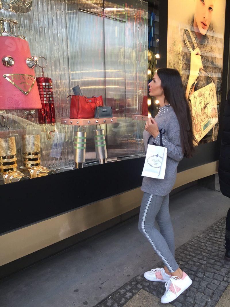Hose: Gang Fashion / Pullover& Sneaker: mademoiselleChic.fr