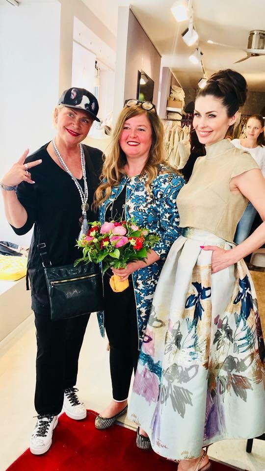 Mit Claudia Effenberger und Barbara Weigand