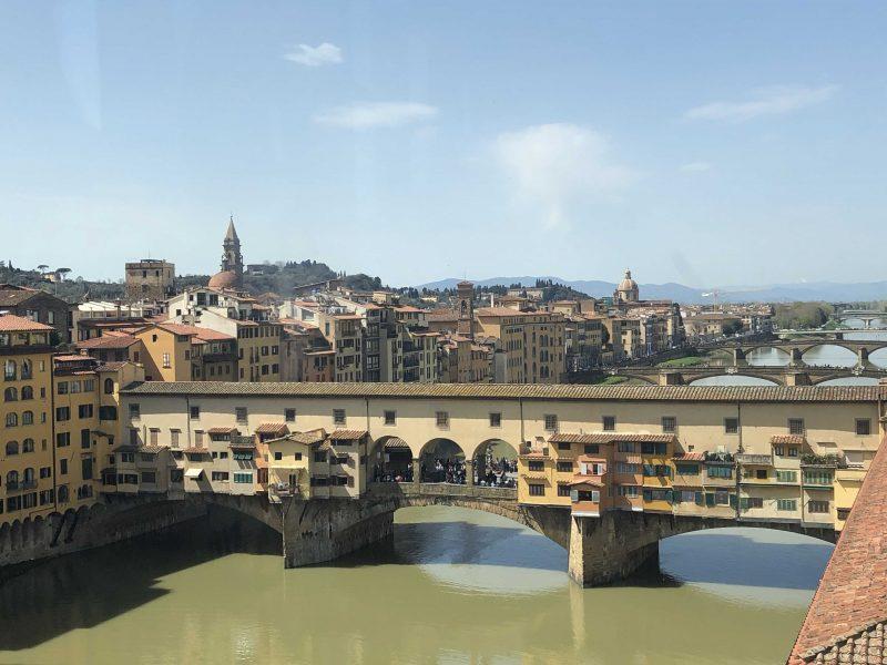 Der Ponte Vecchio in Florenz