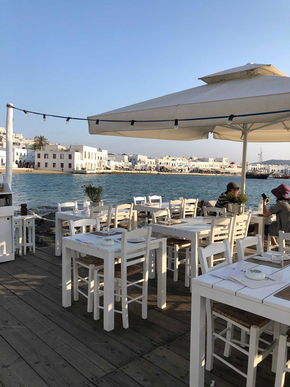 Die Altstadt von Mykonos