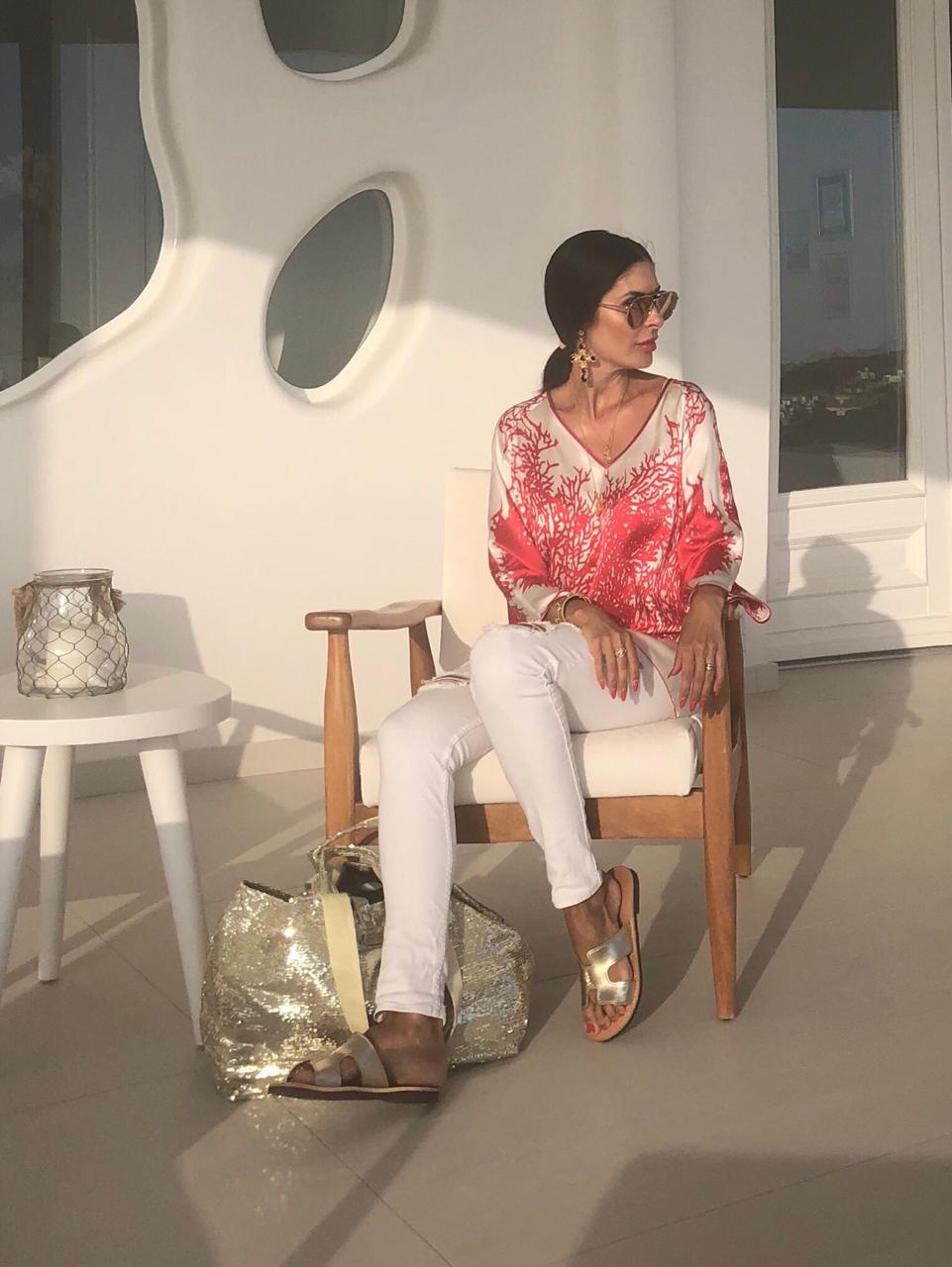 Look 1: Tunika und Tasche brasibrasi