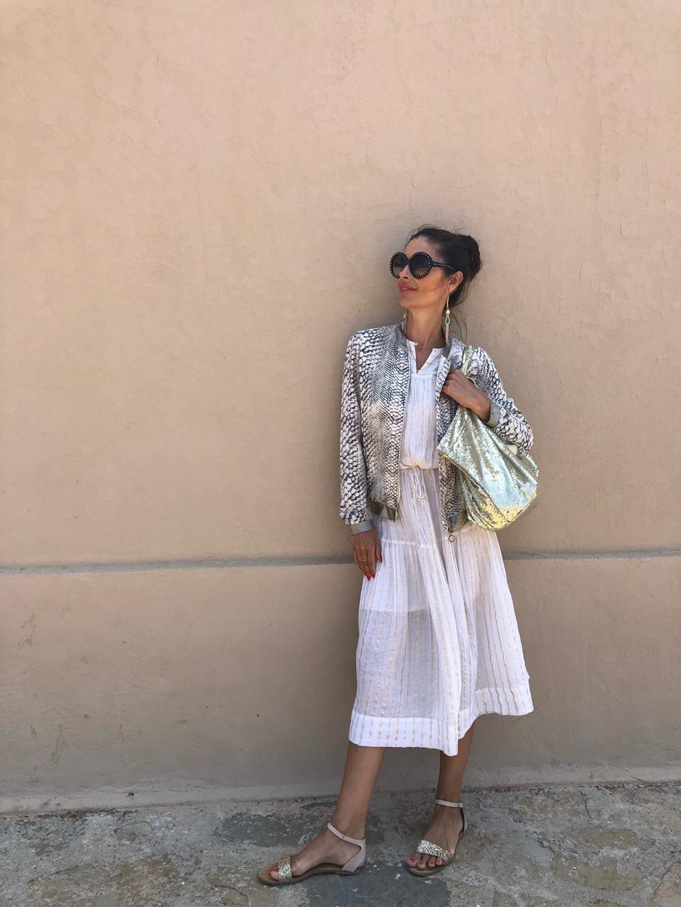 Look 2: Kleid Isabel Marant