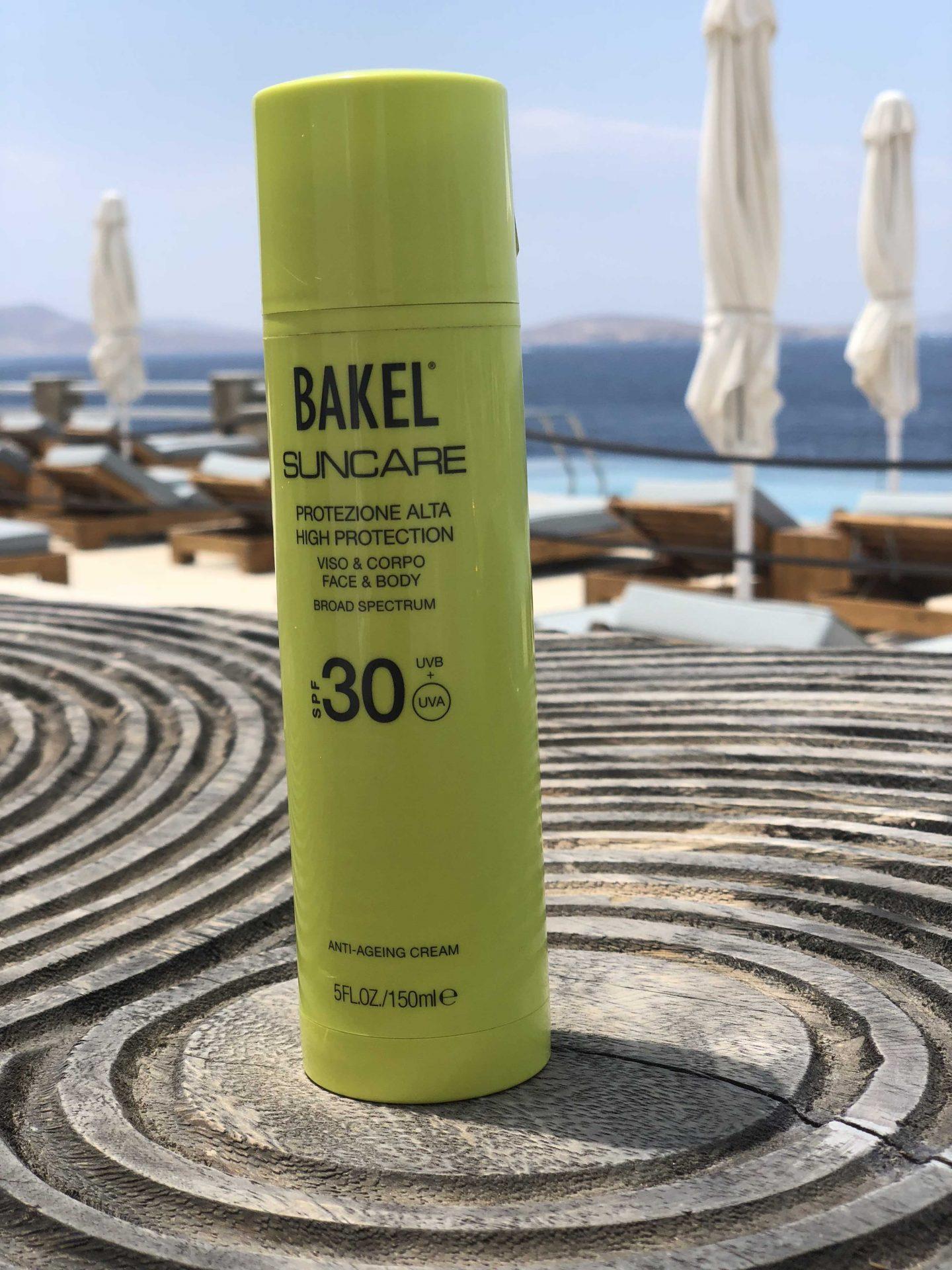 Sonnenpflege von Bakell