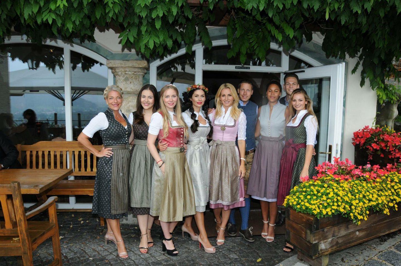 Mit Sandra Abt und den Meise Zwillingen
