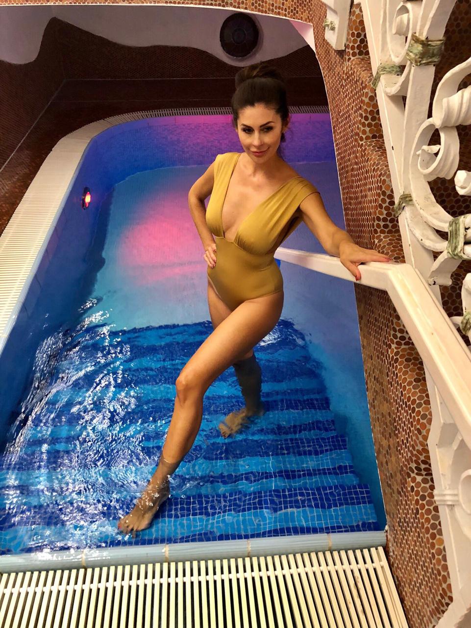 Badeanzug von Iracema Scharf