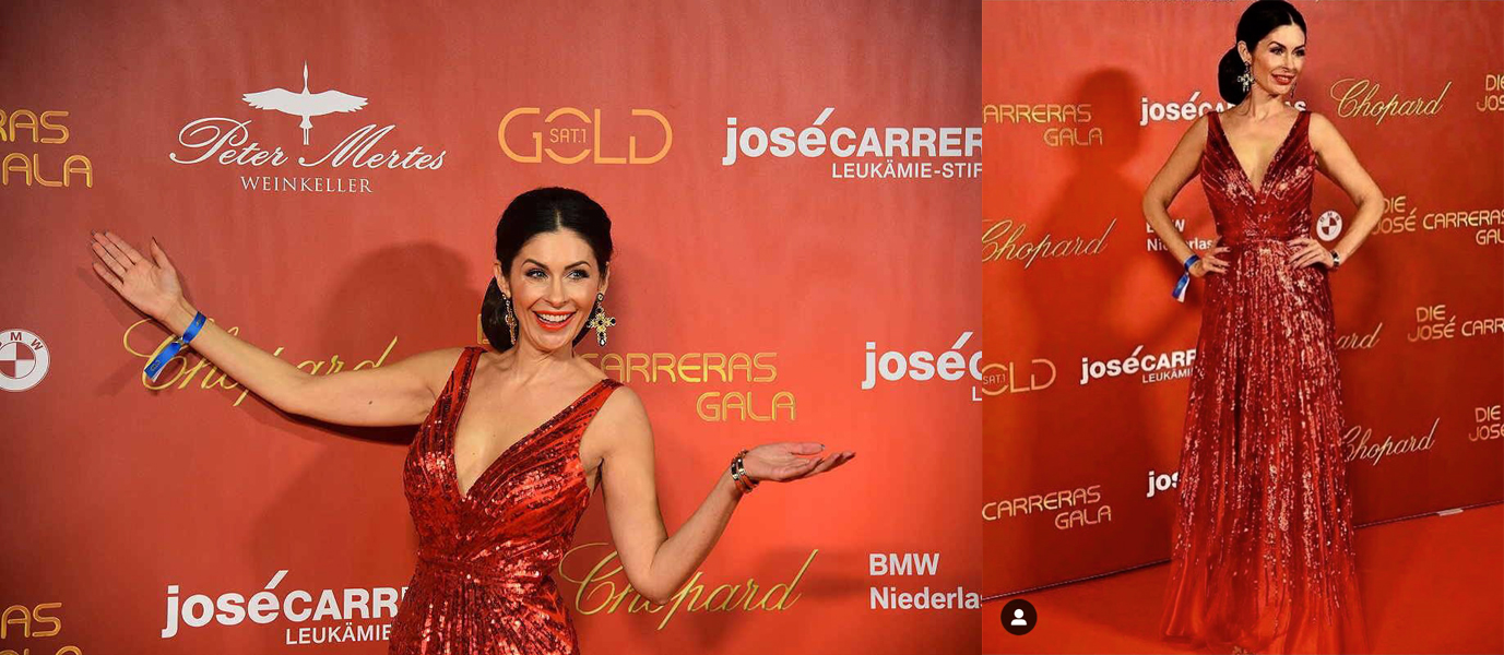 Abendkleid von dresscoded.com auf der Jose Carreras Gala