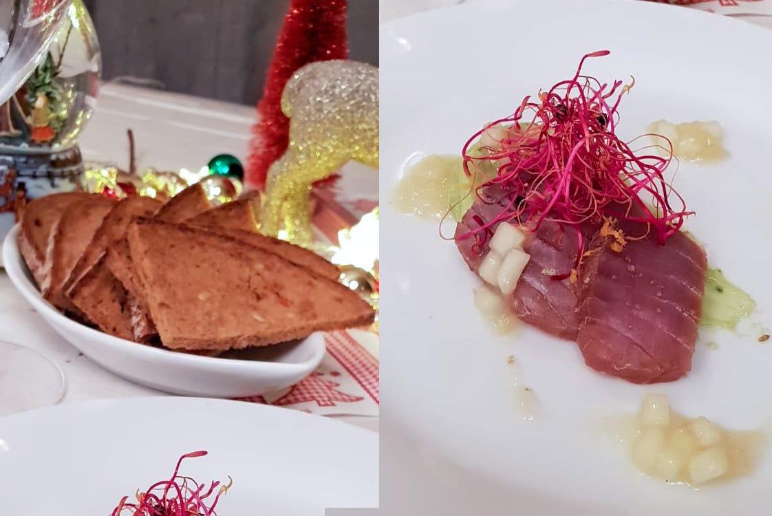Weihnachtsmenü Thunfisch & Avocadocreme / (c) Maria Strehl Photography