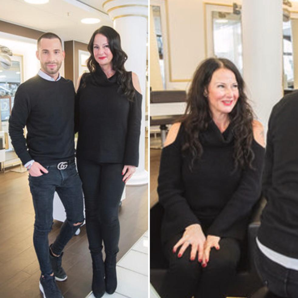 Angie und Tim von Lipperts Friseure