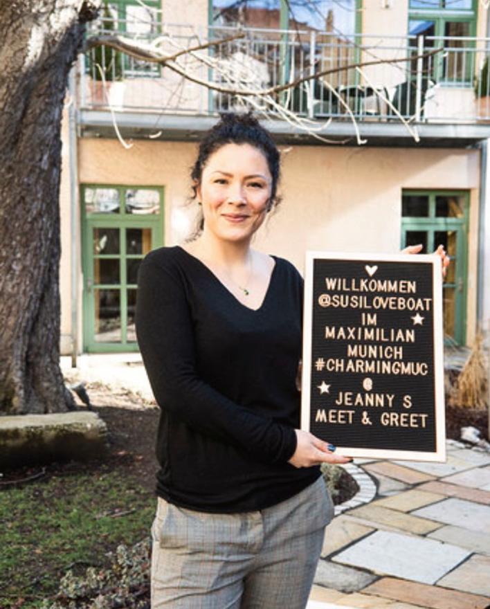 Hotel Direktorin Sarah Pfeil