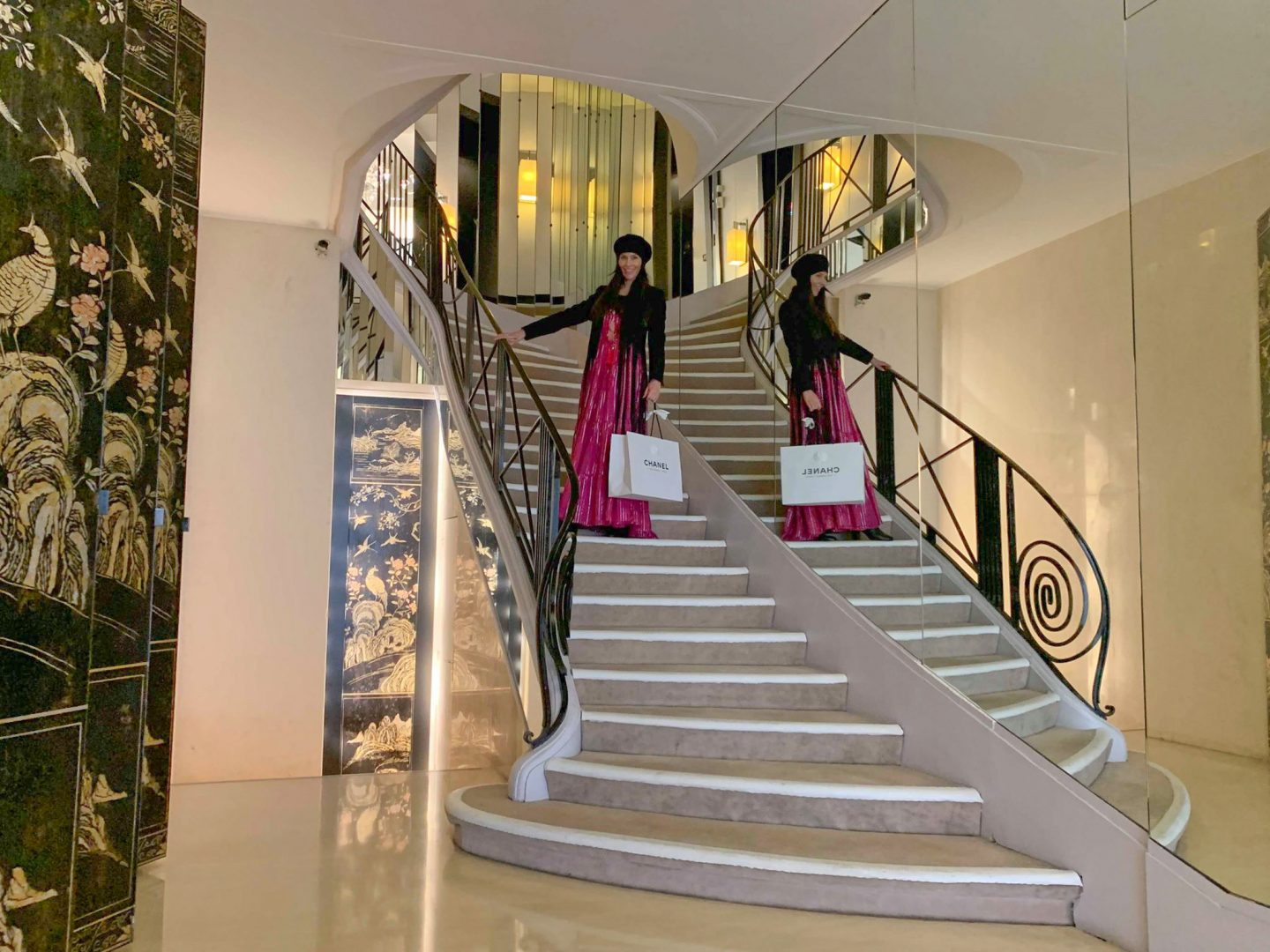 Coco Chanel Treppe