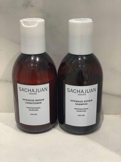 Sacha Juan Shampoo und Conditioner