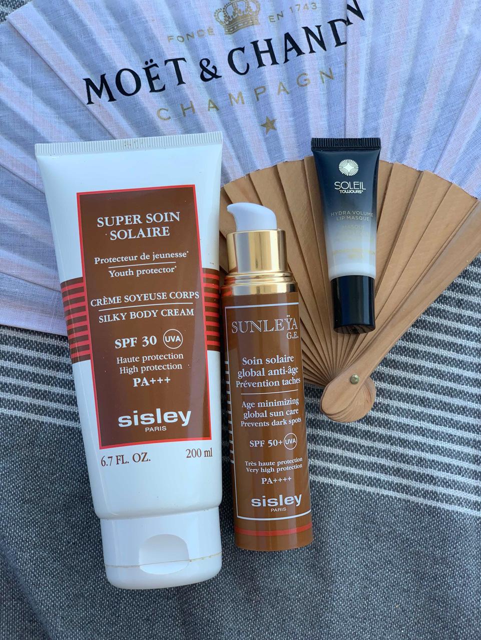 Sonnenschutz von Sisley