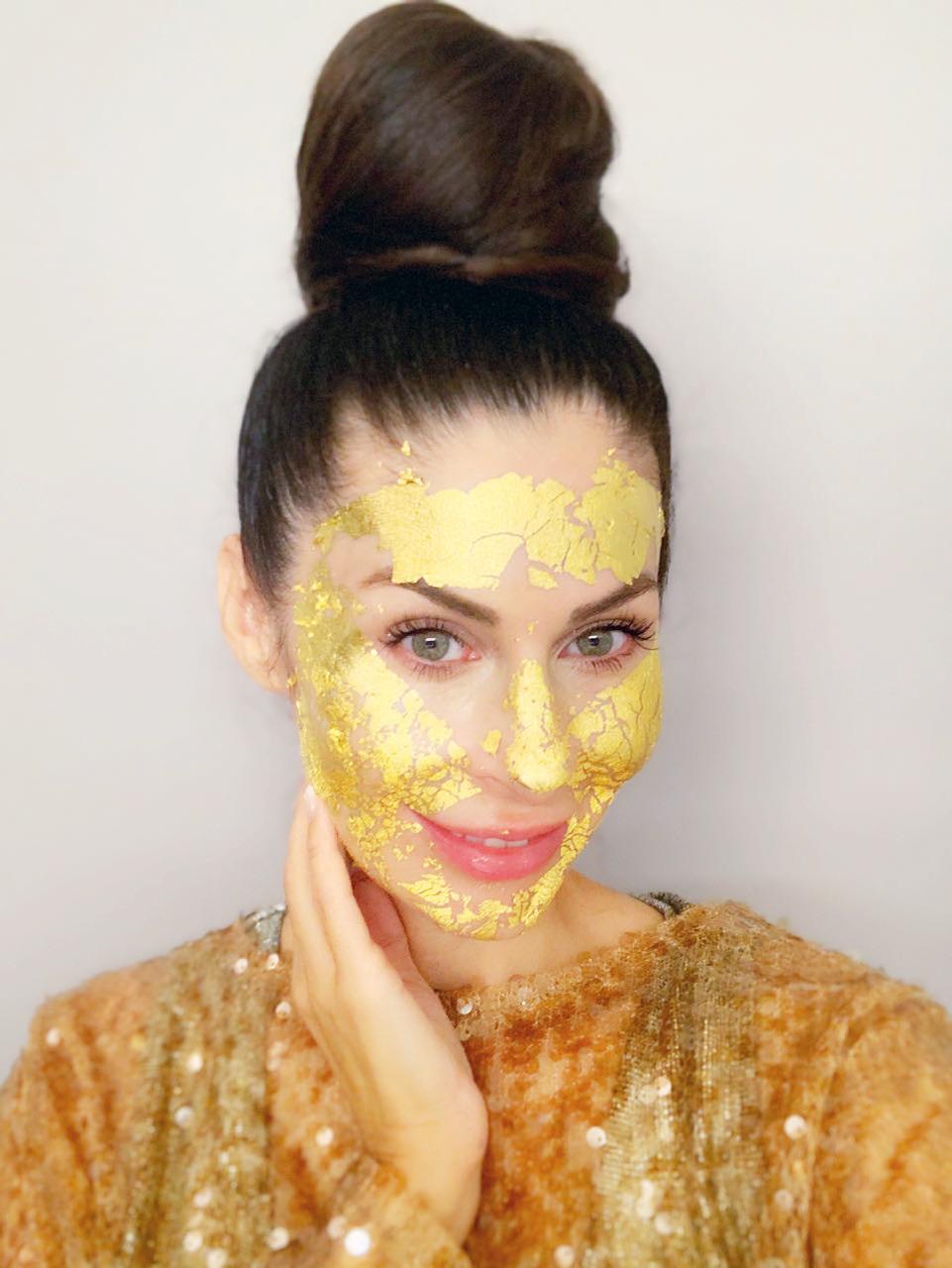 Gold Mask von Kathrin Stoll