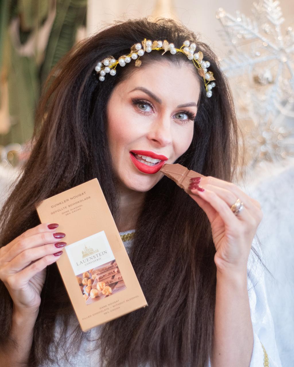 Die leckere Lauenstein Schokolade (c) Maria Strehl