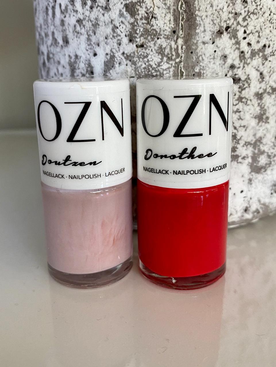 OZN Nagellacke, tolle Produkte aus Deutschland